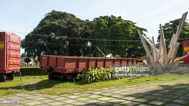 Derailed Armored Train Monument to the battle of Santa Clara led by Ernesto Che Guevara