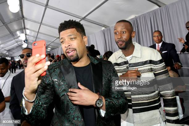 DeRay Davis and James Davis at the 2017 BET Awards at Staples Center on June 25 2017 in Los Angeles California