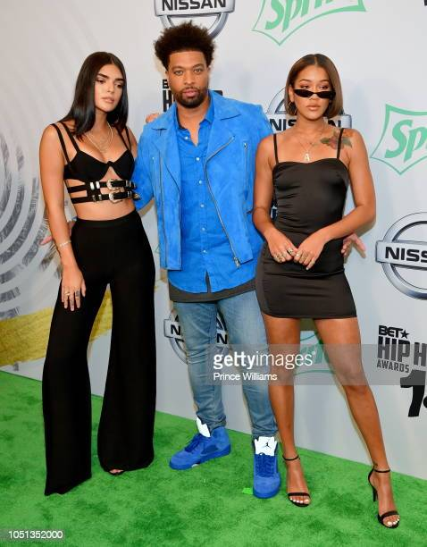 DeRay Davis arrives at the BET Hip Hop Awards 2018 at Fillmore Miami Beach on October 6 2018 in Miami Beach Florida