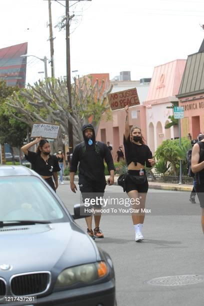 DeRay Davis is seen on June 2 2020 in Los Angeles CA