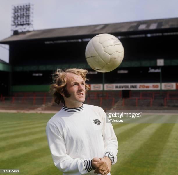 Derby County and Scottish international footballer Archie Gemmill