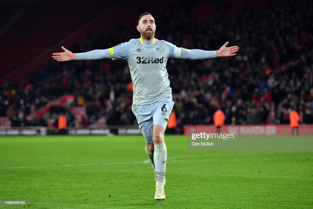 Southampton FC v Derby County- FA Cup Third Round Replay : ニュース写真