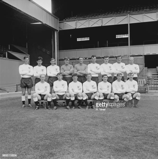 Derby County FC group photo UK 20th July 1967