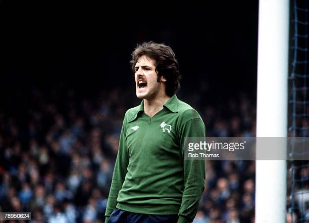 1978 Derby County goalkeeper John Middleton