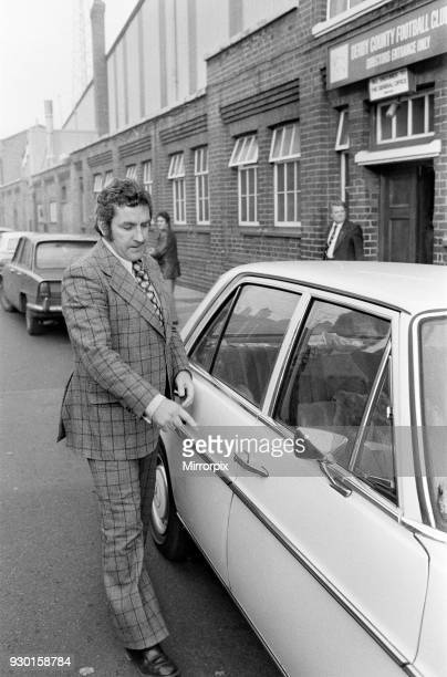 Derby County manager Dave Mackay at the Baseball Ground during the crisis, 22nd November 1973.
