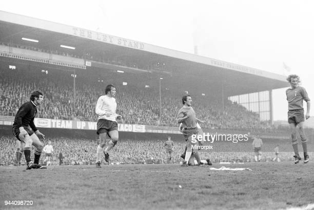 Derby County v Juventus European Cup semi final 2nd leg match at the Baseball Ground Derby 25th April 1973 Dino Zoff in goal for Juventus Final score...