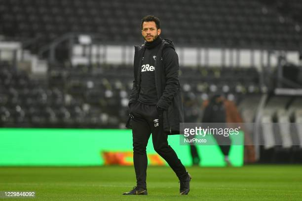 Derby County's Liam Rosenior during the Sky Bet Championship match between Derby County and Wycombe Wanderers at the Pride Park, Derby on Saturday...