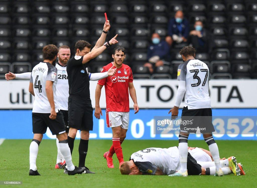 Derby County v Nottingham Forest - Sky Bet Championship : News Photo