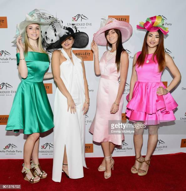 Derby Prelude Models by Style Icon attend the SixthAnnual Star Studded Unbridled Eve Gala at Bardot on January 4 2018 in Hollywood California