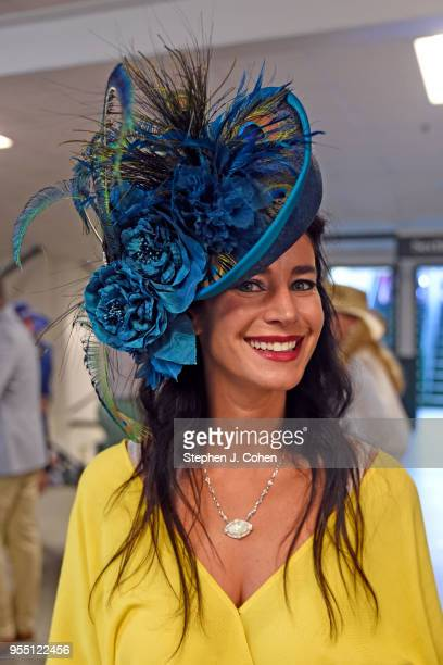 Derby style inside during The 144th Annual Kentucky Derby at Churchill Downs on May 5 2018 in Louisville Kentucky