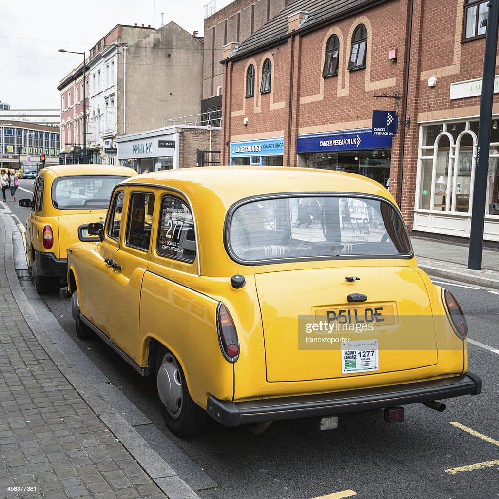 Britischer Taxifahrer