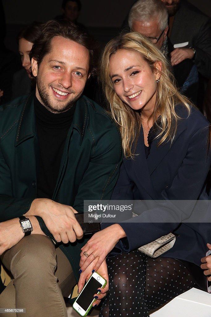 Dereck Blasberg and Elisabeth von Thurn und Taxis Attend the Giambattista Valli show as part of the Paris Fashion Week Womenswear Fall/Winter 2015/2016 on March 9, 2015 in Paris, France.