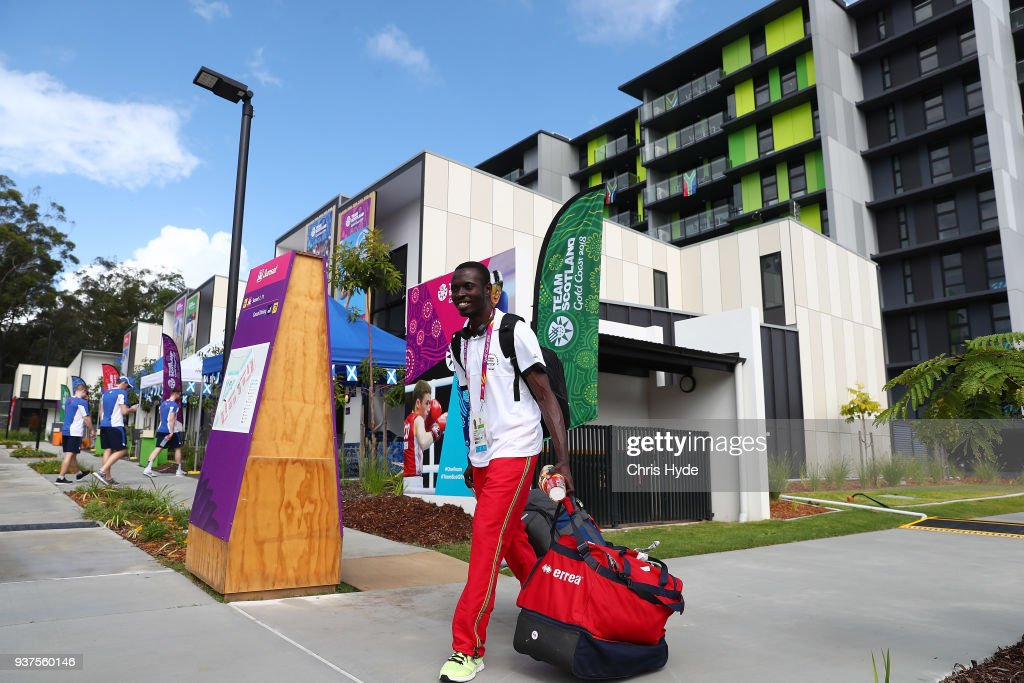2018 Gold Coast Commonwealth Games: Village - Arrival of First Athlete