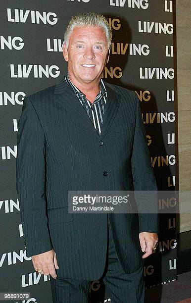 Derek Acorah attends the Living 2007 September Schedule Launch at Victoria House on September 19 2007 in London