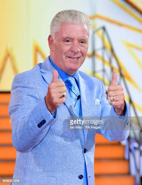 Derek Acorah is evicted during the live final of Celebrity Big Brother at Elstree Studios in Borehamwood Hertfordshire