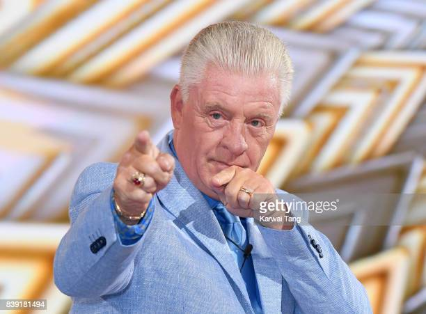 Derek Acorah is evicted from the Celebrity Big Brother house at Elstree Studios on August 25 2017 in Borehamwood England