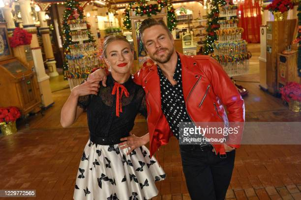 Derek and Julianne Hough host the 5th anniversary flashback special of The Wonderful World of Disney: Magical Holiday Celebration, airing NOV. 26 on...