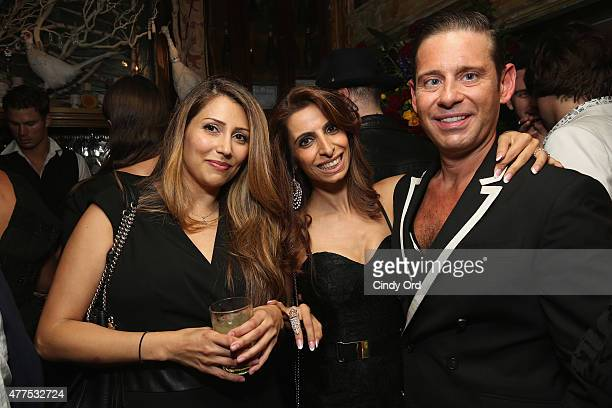 Derek Anderson attends the Casa Reale Fine Jewelry Launch at The Box on June 17 2015 in New York City