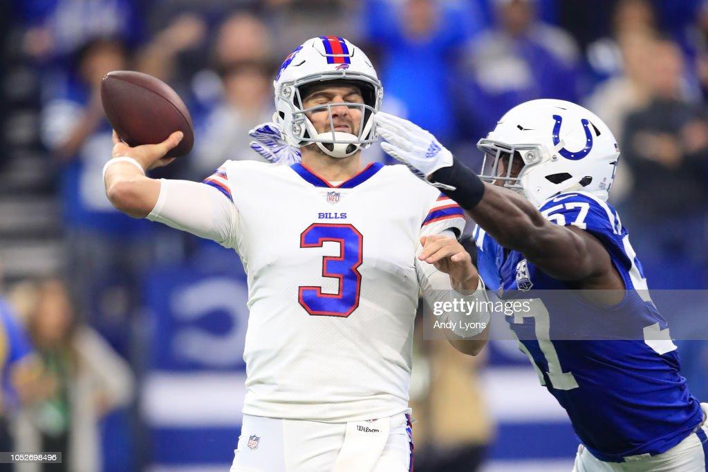 Buffalo Bills v Indianapolis Colts : News Photo