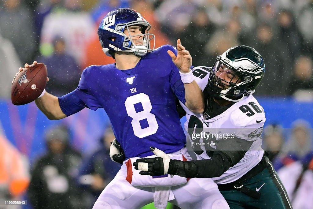 Philadelphia Eagles vNew York Giants : News Photo