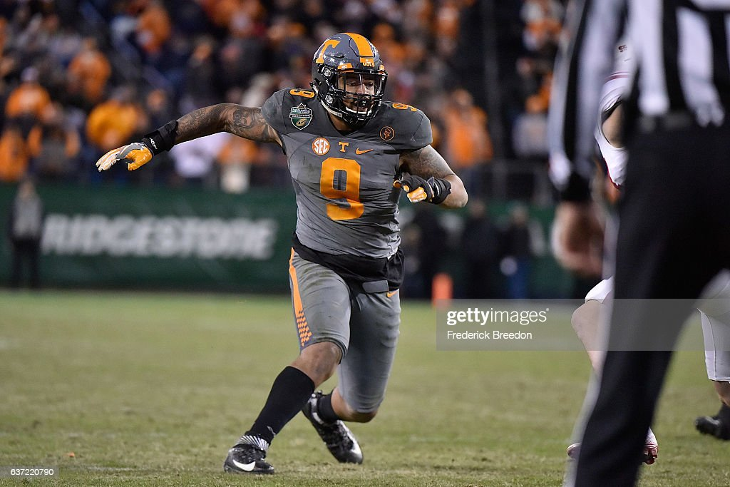 Franklin American Mortgage Music City Bowl - Nebraska v Tennessee : Nachrichtenfoto