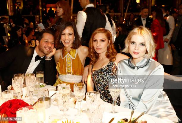 Derek Blasberg Alexa Chung Josephine de La Baume and guest attend The Fashion Awards 2018 In Partnership With Swarovski at Royal Albert Hall on...