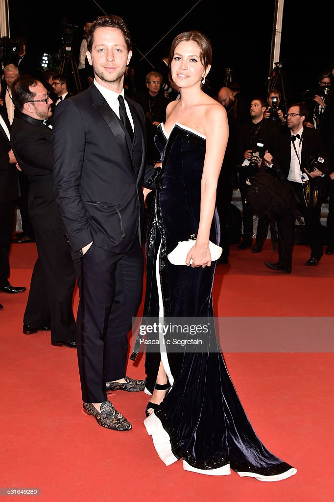 Derek Blasberg and Dasha Zhukova attend 'The Nice Guys' premiere during the 69th annual Cannes Film Festival at the Palais des Festivals on May 15, 2016 in Cannes, France.