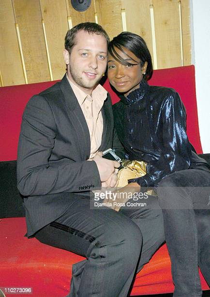 Derek Blasberg and Genevieve Jones during Stephen Petronio Benefit Event Opening Night of 'BLOOM' at the Joyce Theatre in New York City After Party...