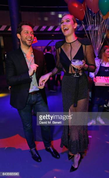 Derek Blasberg and Karlie Kloss attend The Naked Heart Foundation's Fabulous Fund Fair on February 21 2017 in London England