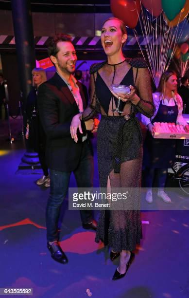 Derek Blasberg and Karlie Kloss attend The Naked Heart Foundation's Fabulous Fund Fair on February 21 2017 in London England