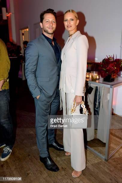 Derek Blasberg and Karolína Kurková celebrates the launch of YouTubecom/Fashion on September 09 2019 in New York City