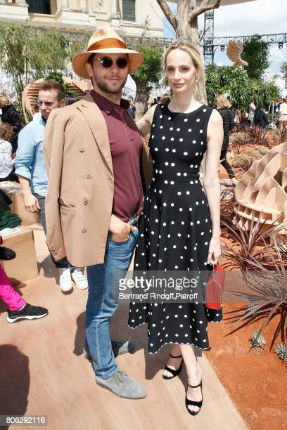Derek Blasberg and Lauren Santo Domingo attend the Christian Dior Haute Couture Fall/Winter 20172018 show as part of Haute Couture Paris Fashion Week...