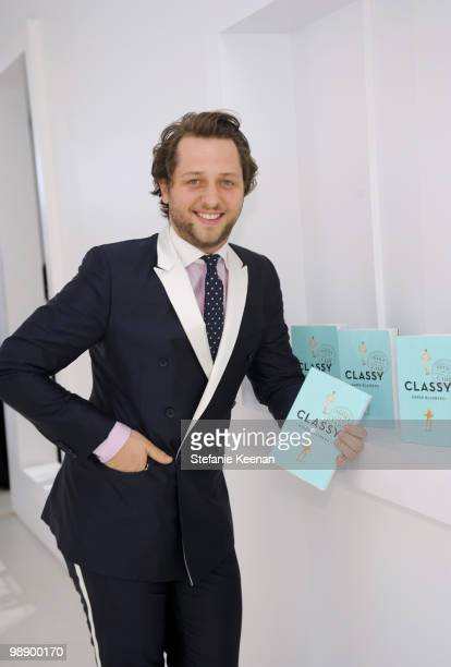 Derek Blasberg attends CLASSY by Derek Blasberg Book Launch on May 6 2010 in Beverly Hills California