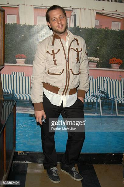 Derek Blasberg attends JORDANA BREWSTER's Blame it on Rio Birthday Party hosted by CABANA CACHACA at Bungalow 8 on April 20 2006 in New York City