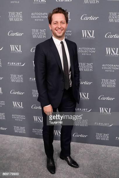 Derek Blasberg attends the 2017 WSJ Magazine Innovator Awards at Museum of Modern Art on November 1 2017 in New York City
