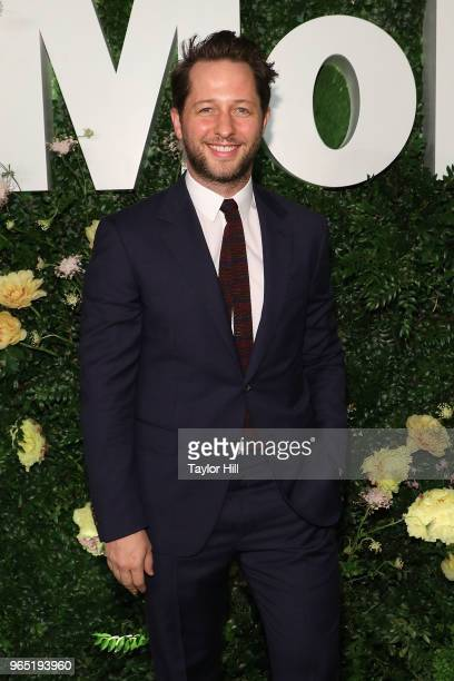 Derek Blasberg attends the 2018 Party in the Garden at Museum of Modern Art on May 31 2018 in New York City