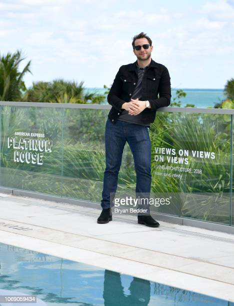 Derek Blasberg attends the American Express Platinum House At The 1 Hotel South Beach on December 6 2018 in Miami Beach Florida