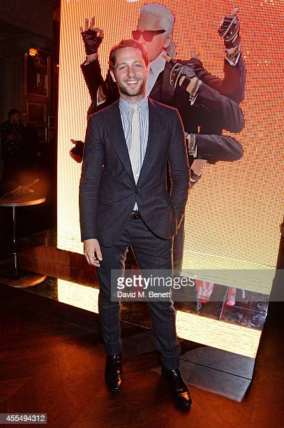 Derek Blasberg attends The Business of Fashion celebrating the #BOF500 the people shaping the global fashion industry at The London EDITION on...