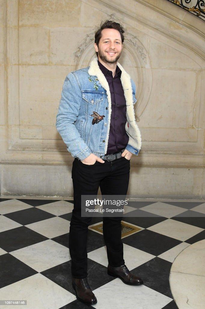 Christian Dior : Photocall - Paris Fashion Week - Haute Couture Spring Summer 2019 : News Photo