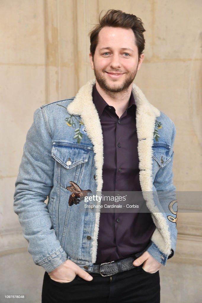 Christian Dior : Front Row - Paris Fashion Week - Haute Couture Spring Summer 2019 : News Photo