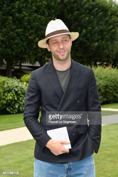 Derek Blasberg attends the Christian Dior show as part of Paris Fashion Week Haute Couture Fall/Winter 20142015 on July 7 2014 in Paris France