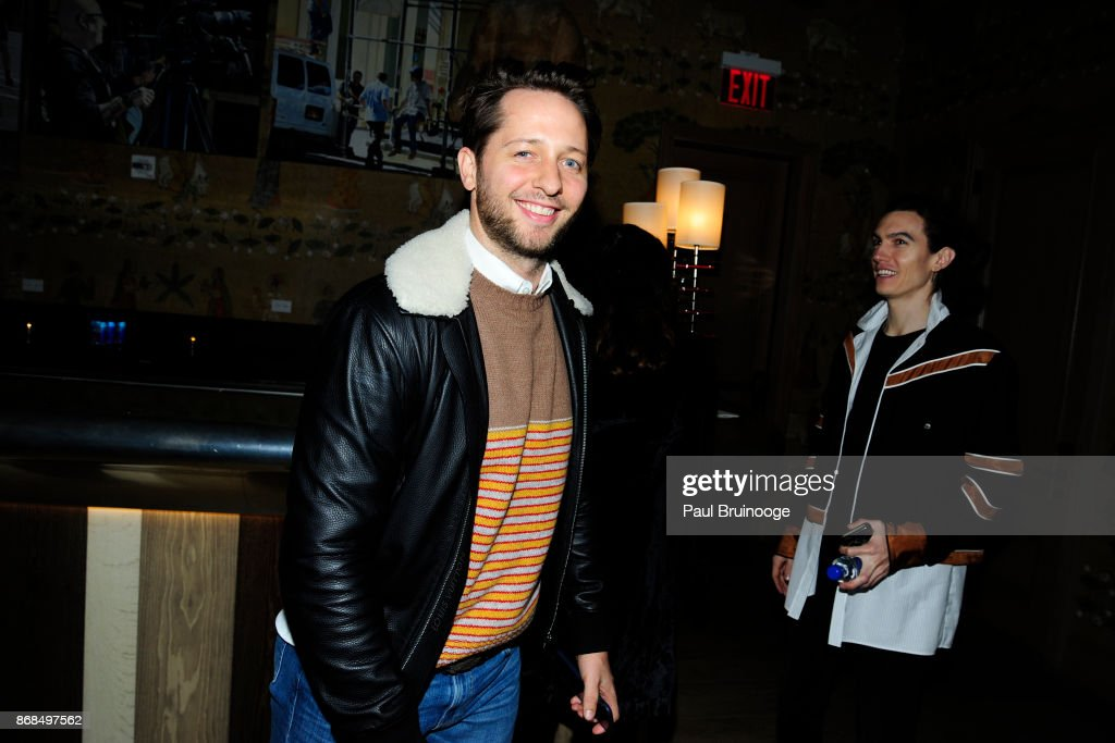 Derek Blasberg attends The Cinema Society with FIJI Water, Men's Journal, and Synchrony host a screening of Marvel Studios' 'Thor: Ragnarok' at the Whitby Hotel on October 30, 2017 in New York City.
