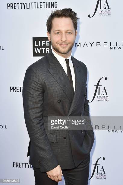 Derek Blasberg attends The Daily Front Row's 4th Annual Fashion Los Angeles Awards Arrivals at The Beverly Hills Hotel on April 8 2018 in Beverly...