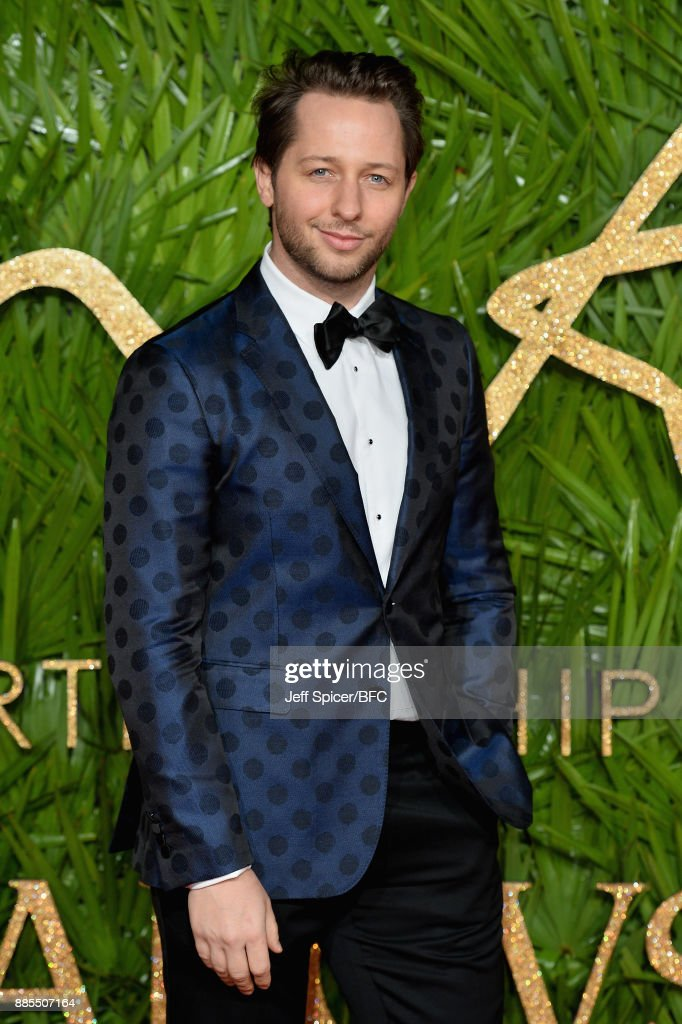 Derek Blasberg attends The Fashion Awards 2017 in partnership with Swarovski at Royal Albert Hall on December 4, 2017 in London, England.
