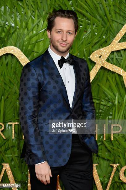 Derek Blasberg attends The Fashion Awards 2017 in partnership with Swarovski at Royal Albert Hall on December 4 2017 in London England