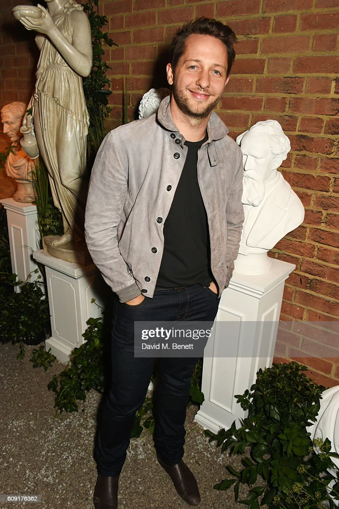 Derek Blasberg attends the launch party hosted by Christopher Bailey and Jefferson Hack to celebrate the Burberry and Dazed cover featuring Jean Campbell at Makers House on September 20, 2016 in London, England.