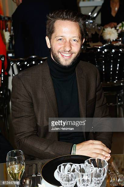Derek Blasberg attends the Lonchamp dinner as part of the Paris Fashion Week Womenswear Spring/Summer 2017 at Longchamp Boutique St Honore on October...