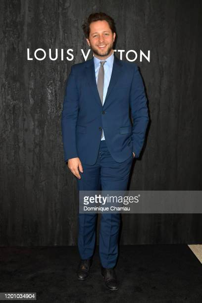 Derek Blasberg attends the Louis Vuitton's Jewelry Launch as part of Paris Fashion Week on January 21 2020 in Paris France