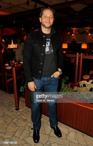 Derek Blasberg attends the LOVE YouTube LFW party supported by PerrietJouet and hosted by Katie Grand Derek Blasberg at Decimo at The Standard London...