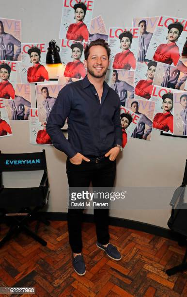 Derek Blasberg attends the #MOVINGLOVE screening hosted by Derek Blasberg Katie Grand at Screen on the Green on July 15 2019 in London England